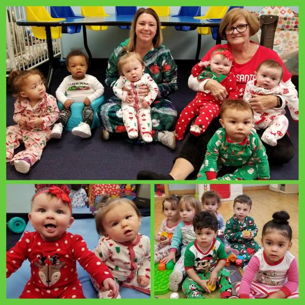 Christmas Pajama Day 2017